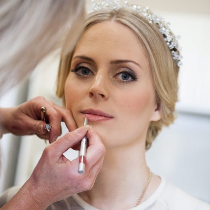Bridal Upstyle by Natasha and Make Up by Tanya - Mobile Makeovers