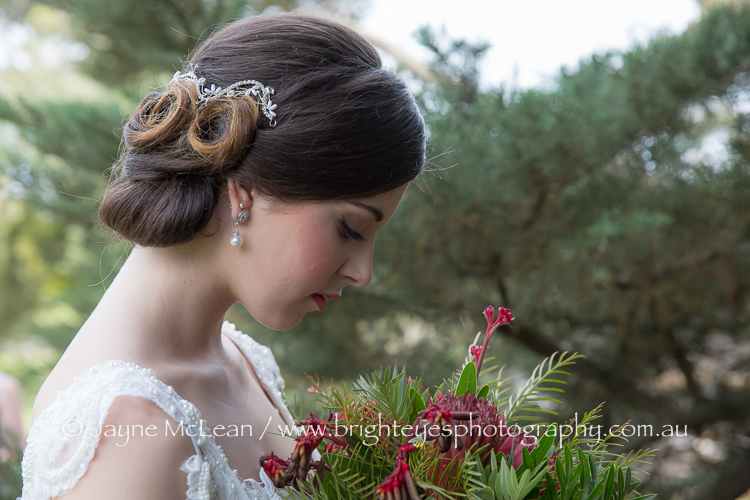 Bridal Upstyle by Alicia and Make Up by Kimberley - Mobile Makeovers